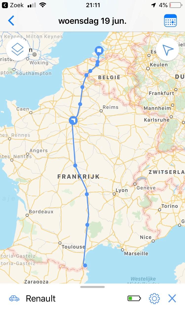 Invoxia GPS Car Tracker